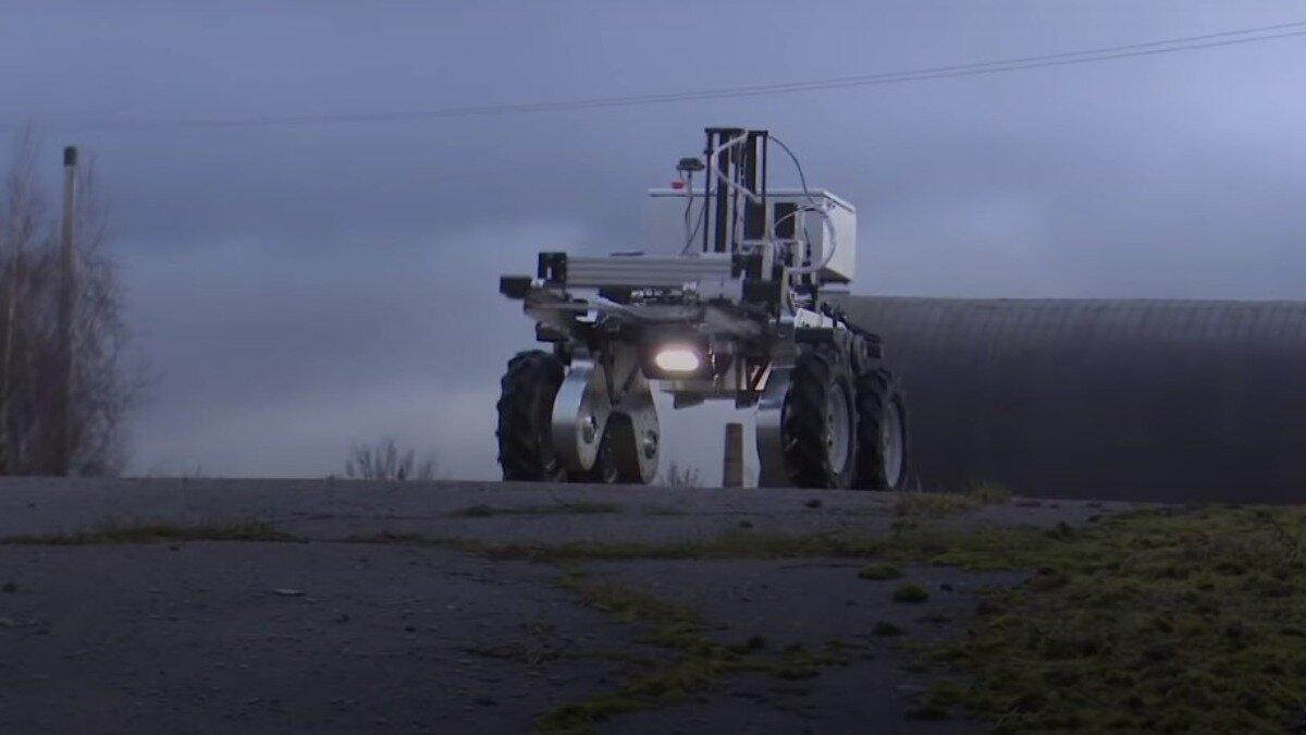 Космические технологии или как в Латвии истребляют сорняки лазером
